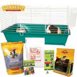 Home Sweet Home Sunseed Starter Kit Guinea Pig