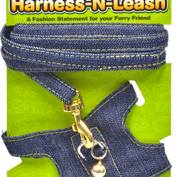 Critter Jeans Small Animal Harness-n-leash