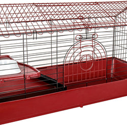 Small Animal Peak Roof Cage
