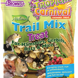 Tropical Carnival Natural Trail Mix Hamster Treat