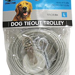 Aspen Pet Dog Tieout Trolley For Lg Dogs Up To 100