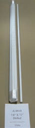 Sunguard Fiberglass Predrilled Fence Post