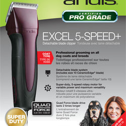 Excel 5 Speed Clipper With 10 Blade