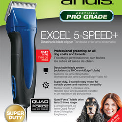 Excel 5 Speed Clipper W/10 Blade