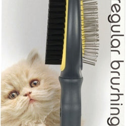 Gripsoft Double Sided Cat Brush