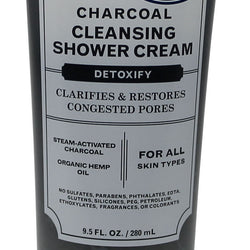 Charcoal Shower Cream