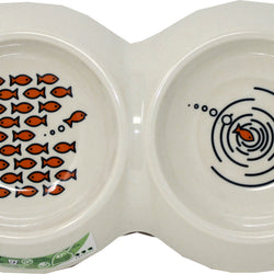 Ecoware Double Cat Dish