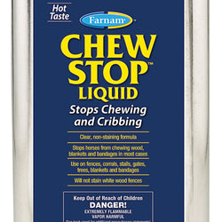 Chew Stop Liquid Chewing Deterrent For Horses