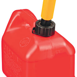 Spill Proof Poly Gas Can