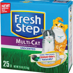 Fresh Step Multi-cat Unscented Litter