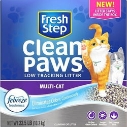 Fresh Step Clean Paws Multi Cat Litter