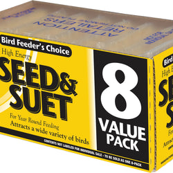 C&s Bird Feeder's Choice Seed And Suet Value Pack
