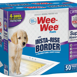 Wee-wee Insta-rise Border Pad