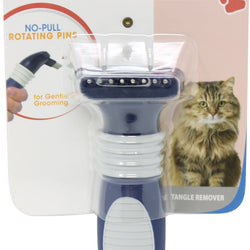 Tangle Remover No-pull Rotating Pins For Cat