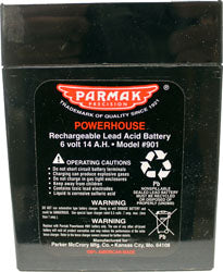 Parmak Replacement Battery For Parmak Fencers