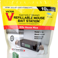 Refill For Mouse Bait Station