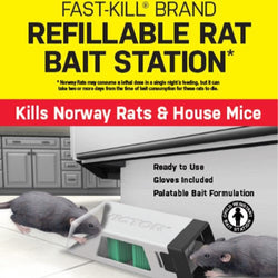 Rat Bait Station Refillable
