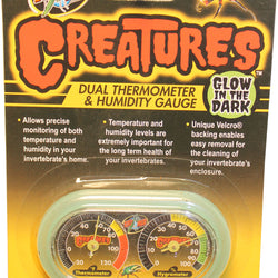 Creatures Thermometer/humidity Gauge Glow