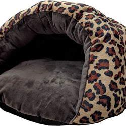 Sleep Zone Cheetah Cuddle Cave