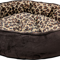 Sleep Zone Cheetah Round Napper