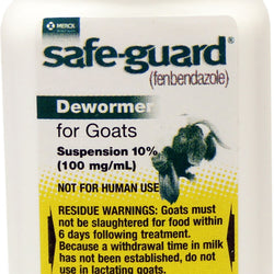 Safe-guard 10% Suspension Goat Dewormer