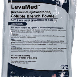 Levamed Soluble Drench Powder Dewormer