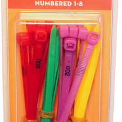 Zip Leg Bands With Numbers
