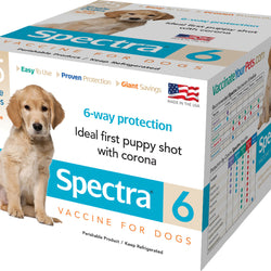 Spectra 6 Dog Vaccine With Syringe