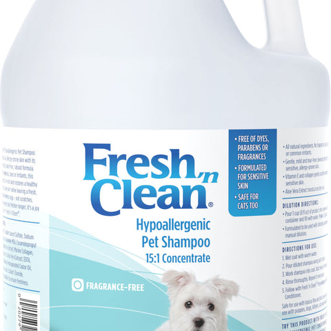 Hypoallergenic Pet Shampoo 15:1 Concentrate