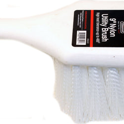 Utility Brush Foam Handle Nylon Bristles