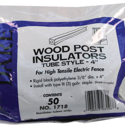 Tube Style Wood Post Insulator