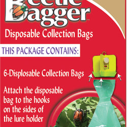 Beetle Bagger Disposable Collection Bags