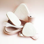 Bioplastic Pack-Up-Cup in Dusty Pink