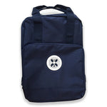 Compact Backpack in Navy Blue