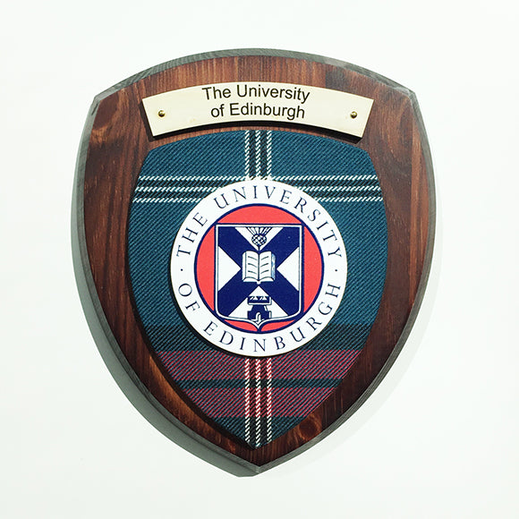 Wall Plaque in Dark Wood