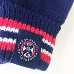 Knitted Gloves in Navy