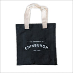 Established Design Jute Bag in Black