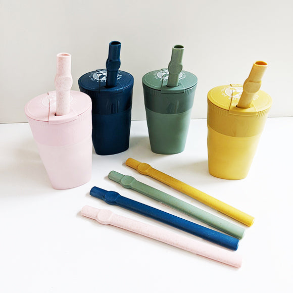 Bioplastic Straw in Various Colours