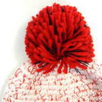 Beanie Hat in Red/Navy/White