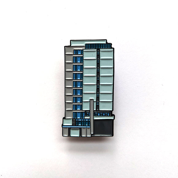 Appleton Tower Pin Badge