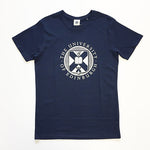Classic Large Crest T-Shirt in Navy