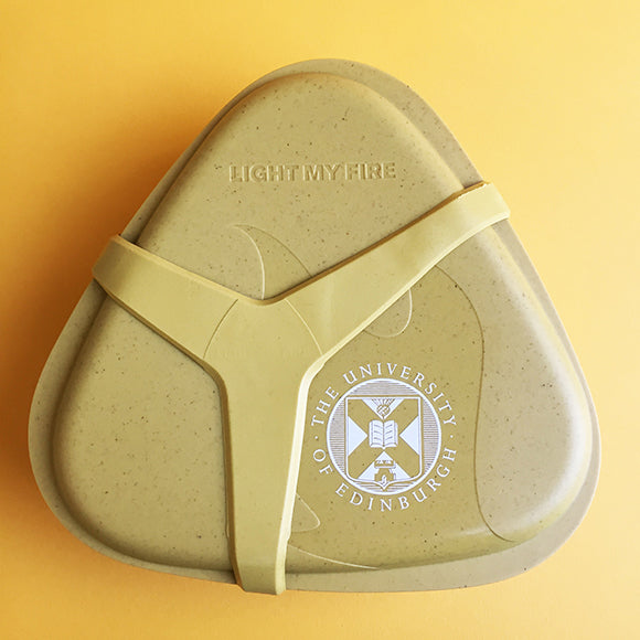 Bioplastic Lunch Kit in Mustard Yellow