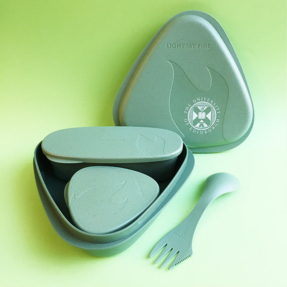 Bioplastic Lunch Kit in Sandy Green