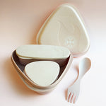 Bioplastic Lunch Kit in Dusty Pink