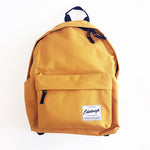 Classic Backpack in Mustard Yellow