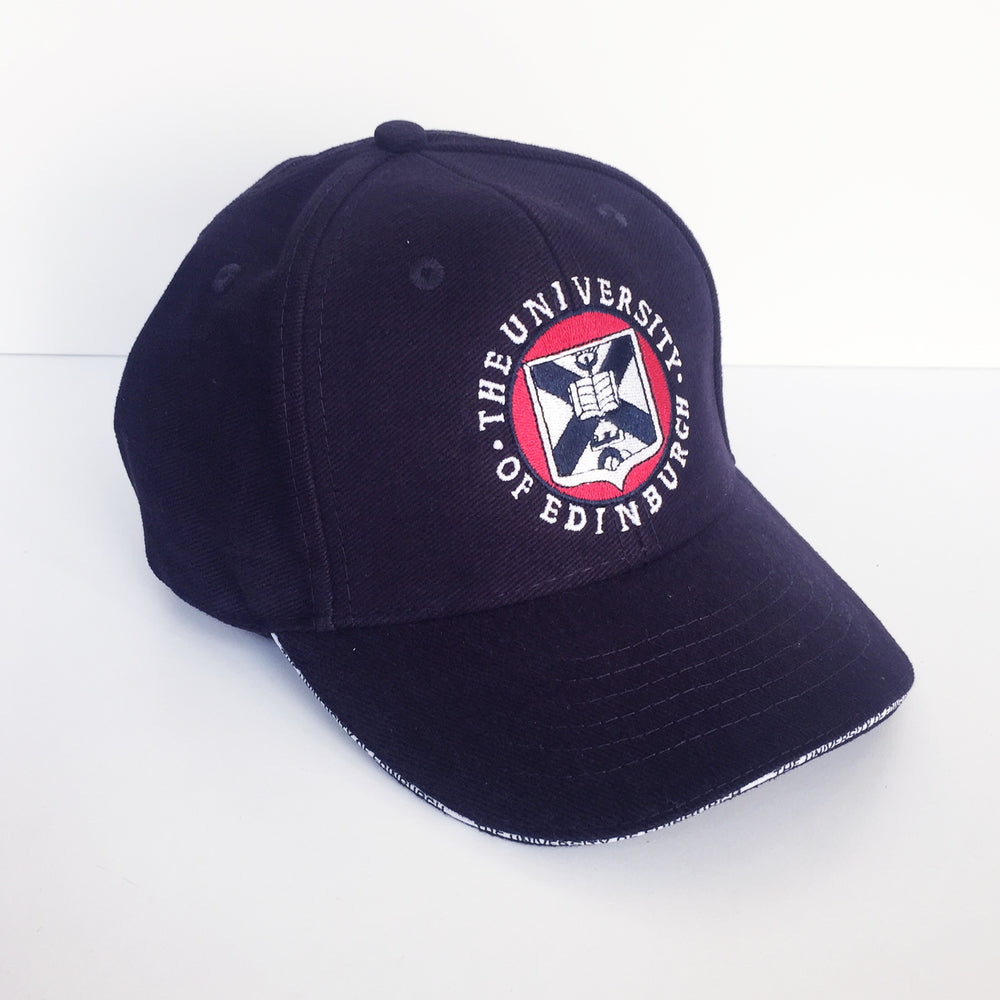 Classic Crest Baseball Cap in Navy