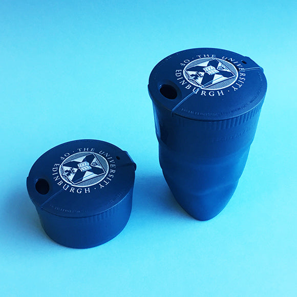 Bioplastic Pack-Up-Cup in Hazy Blue