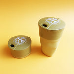 Bioplastic Pack-Up-Cup in Mustard Yellow