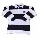 Embroidered Crest Rugby Shirt