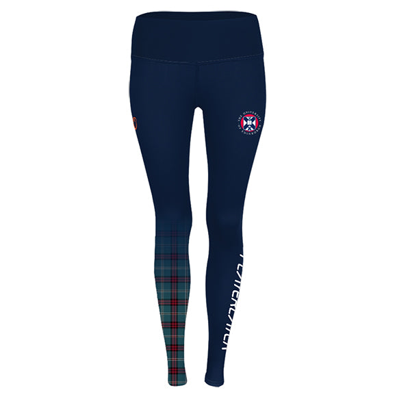 Playerlayer Leggings with Tartan Design